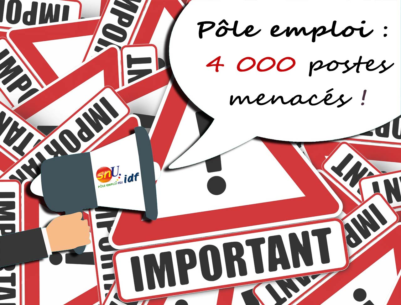 Contre les 4000 suppressions de postes