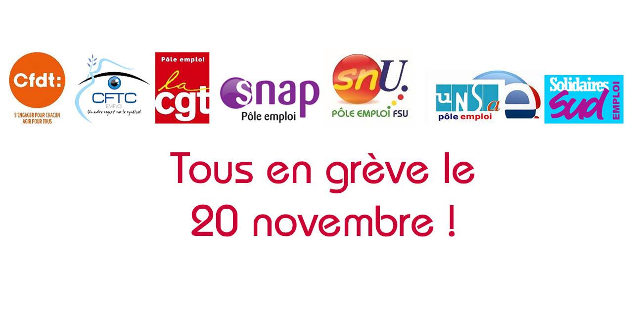 Grève du 20 novembre 2018